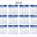 Free Printable Calendar 2018 | Blank Templates