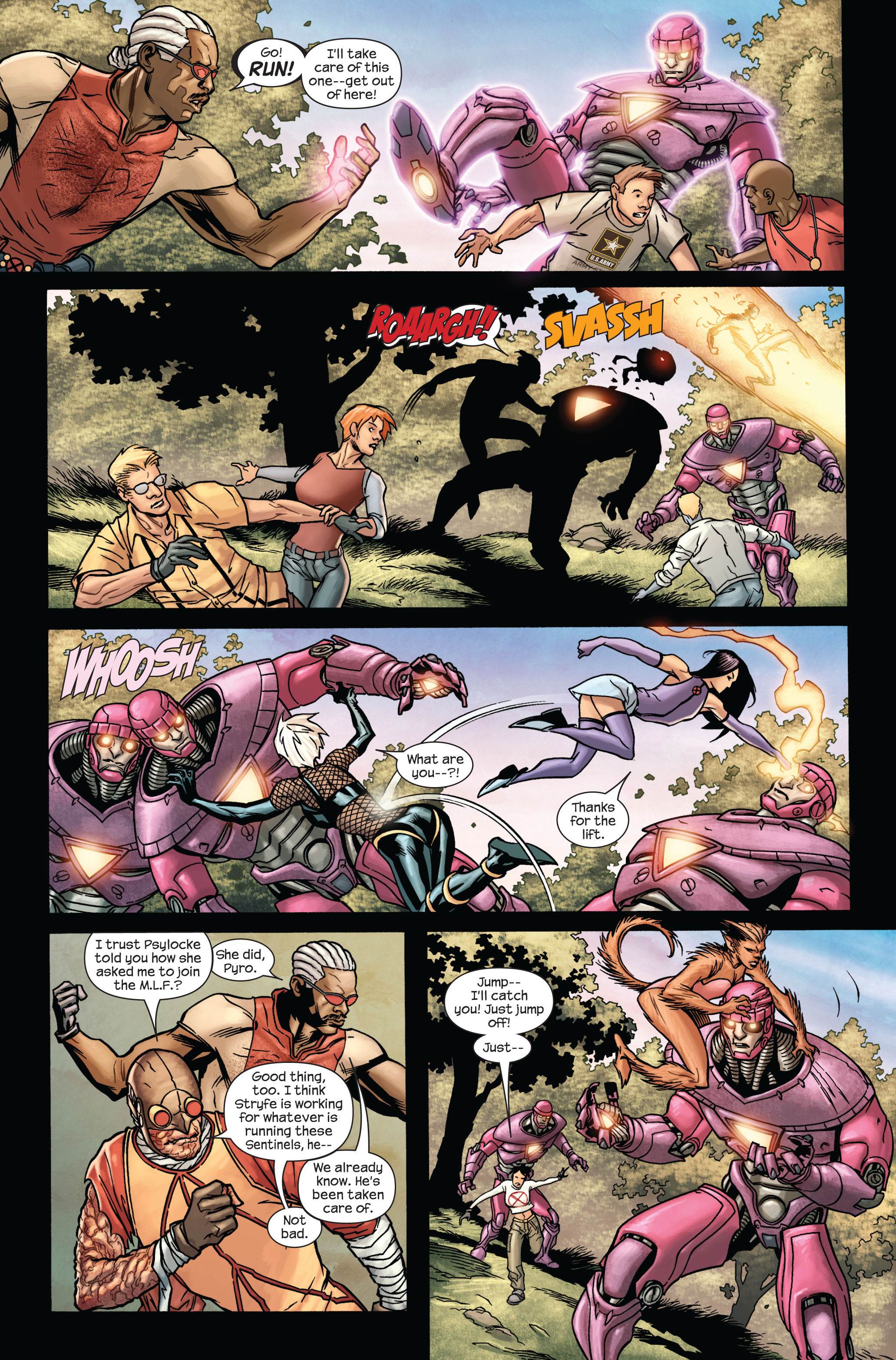 Read online Ultimate X-Men comic -  Issue #87 - 15