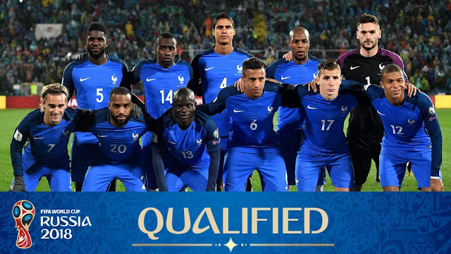 France World Cup 2018 Squad,
