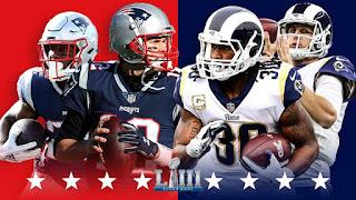 اون لاين مشاهدة مباراة لوس انجلوس رامز ونيو انجلاند باتريوتس بث مباشر اليوم سوبر بول 4-2-2019 Super Bowl اليوم بدون تقطيع