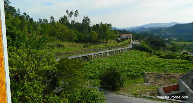 Estrada entre Amarante e a Freguesia de Fridão, Portugal