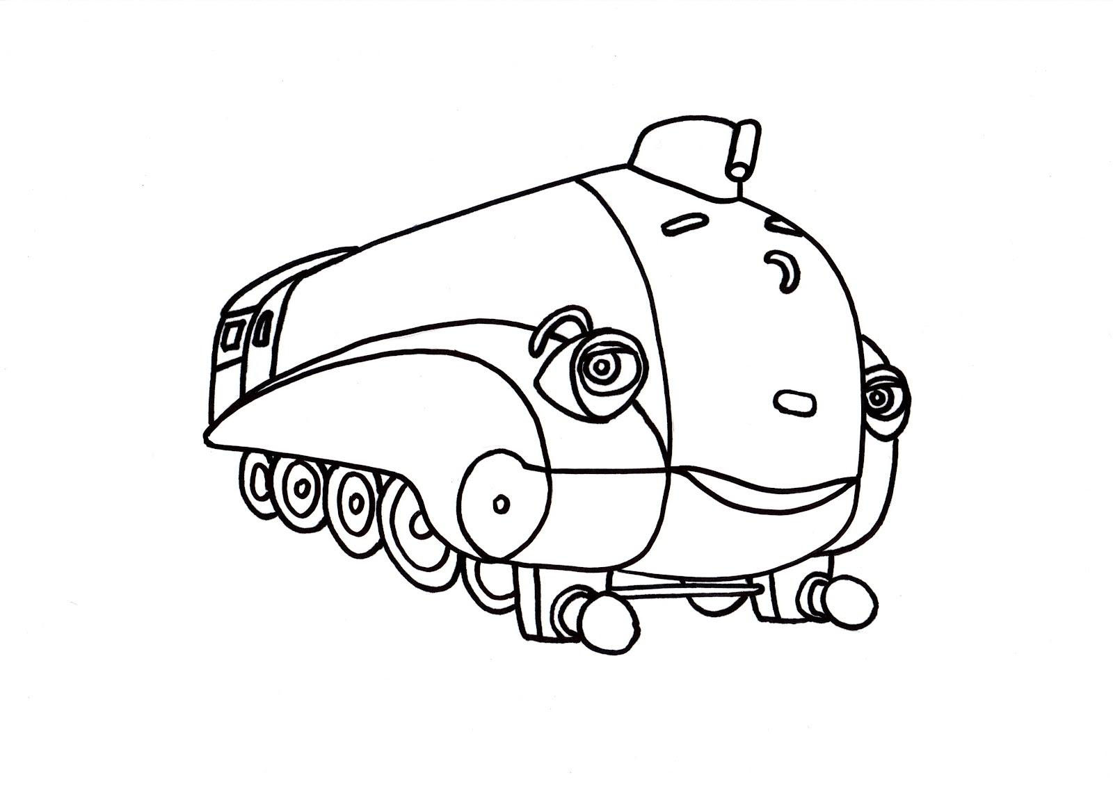 Colora un treno