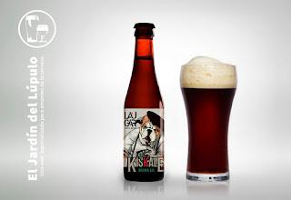 Laugar Kiskale, una cerveza artesana española estilo Brown Ale