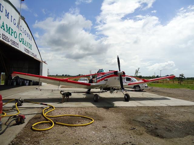 avión Cessna pulverizador