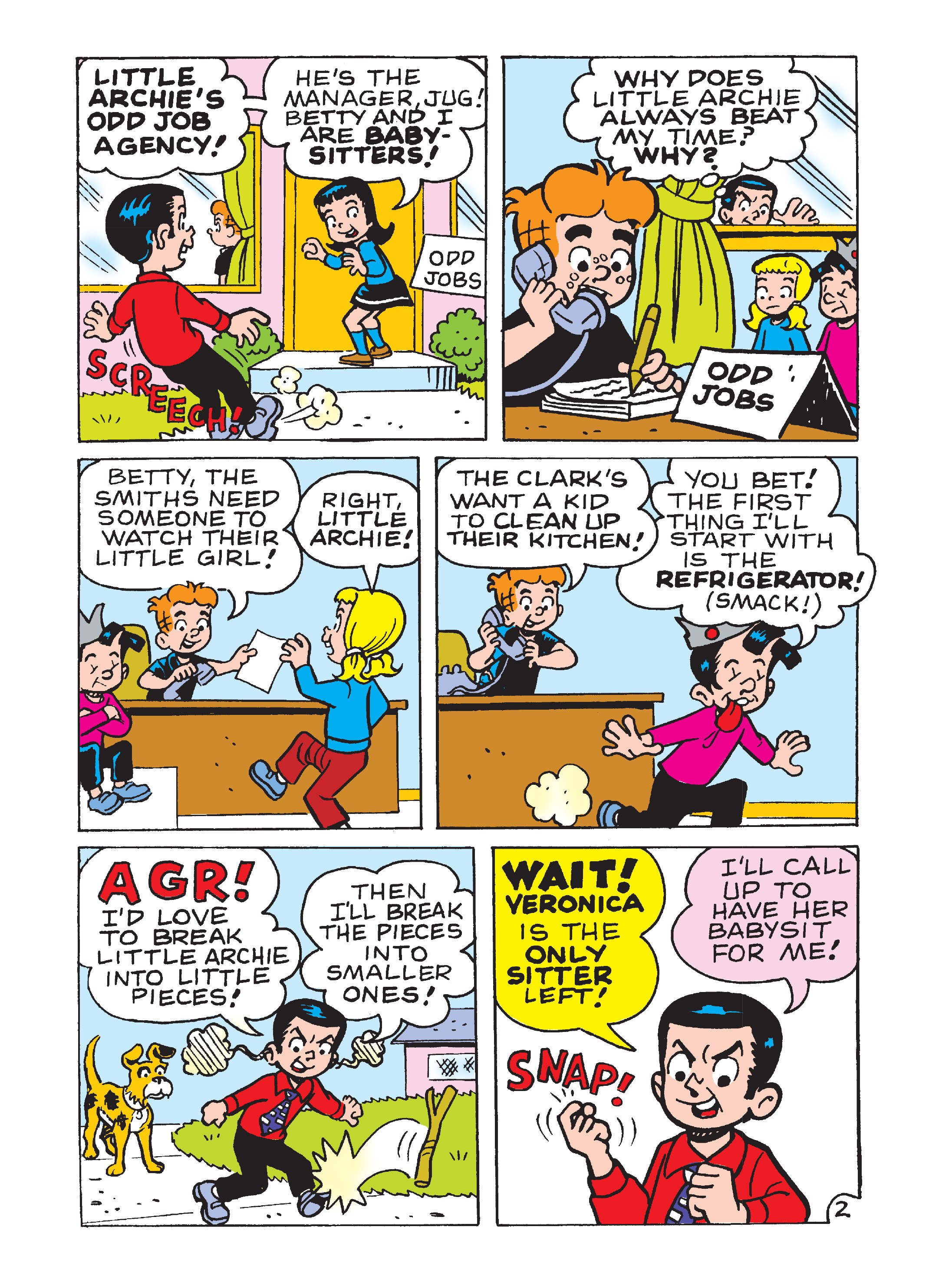 Read online Archie's Funhouse Double Digest comic -  Issue #8 - 135