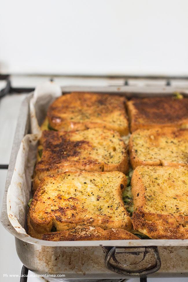 Foto della terrina di pane e verdure di Montersino