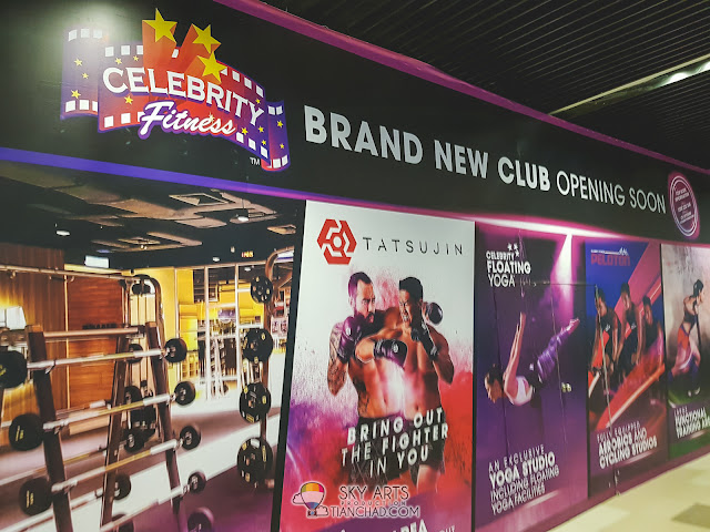Celebrity Fitness @ MyTOWN Shopping Centre