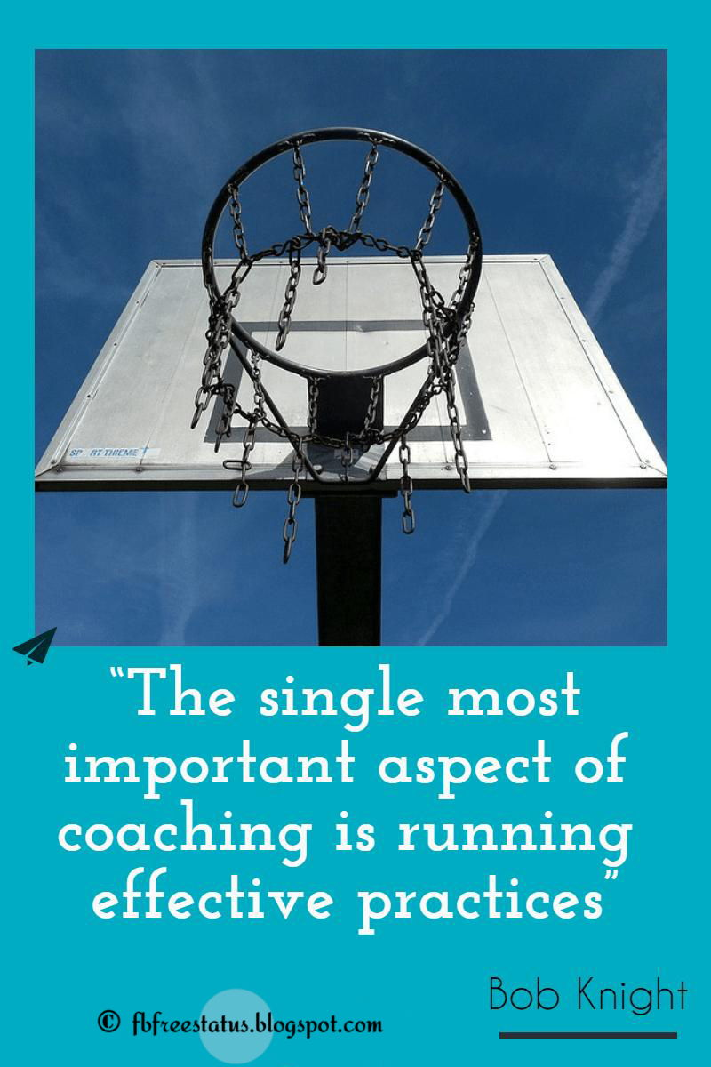 Bob knight basketball quotes with image