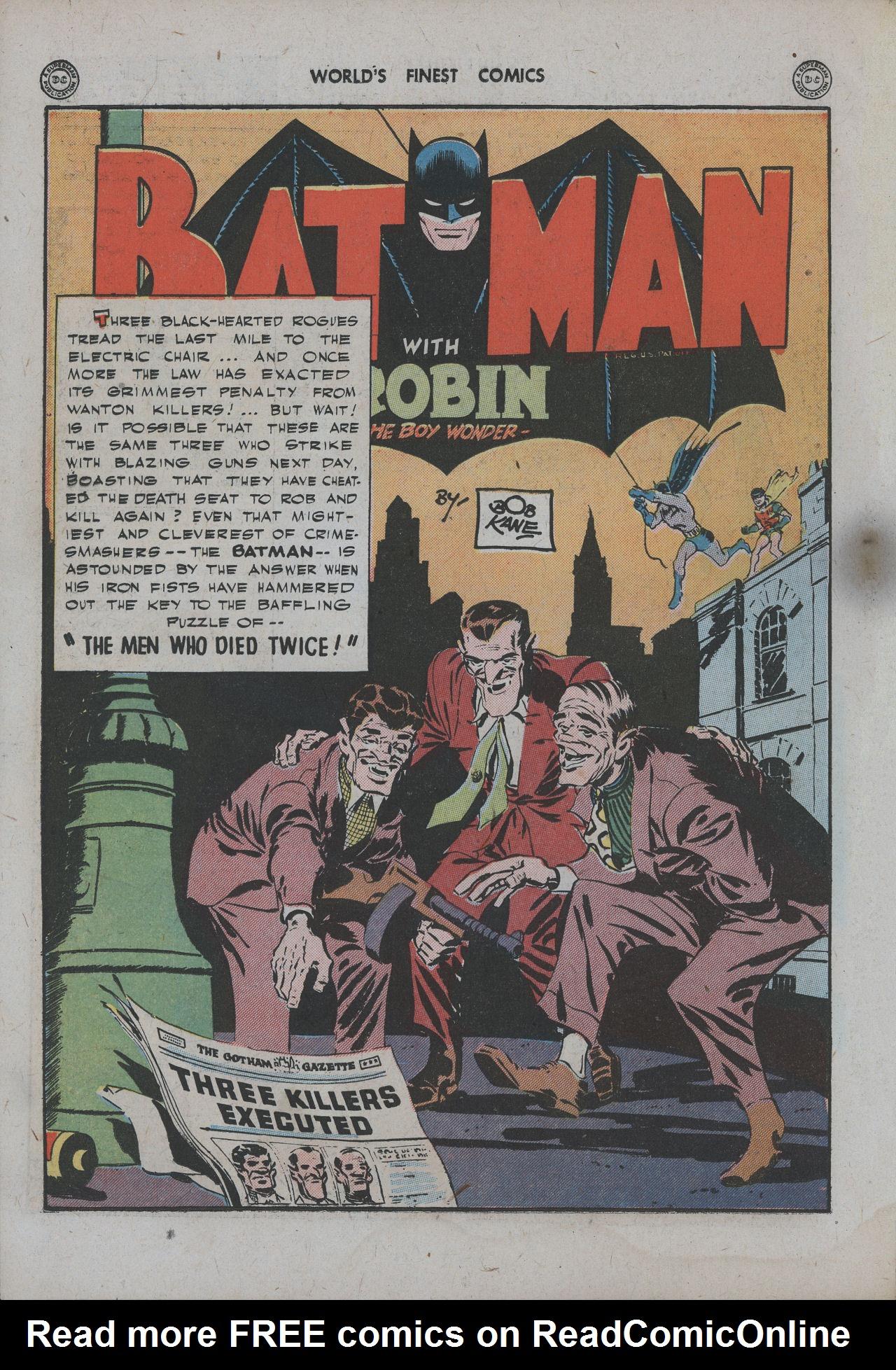 Read online World's Finest Comics comic -  Issue #15 - 71