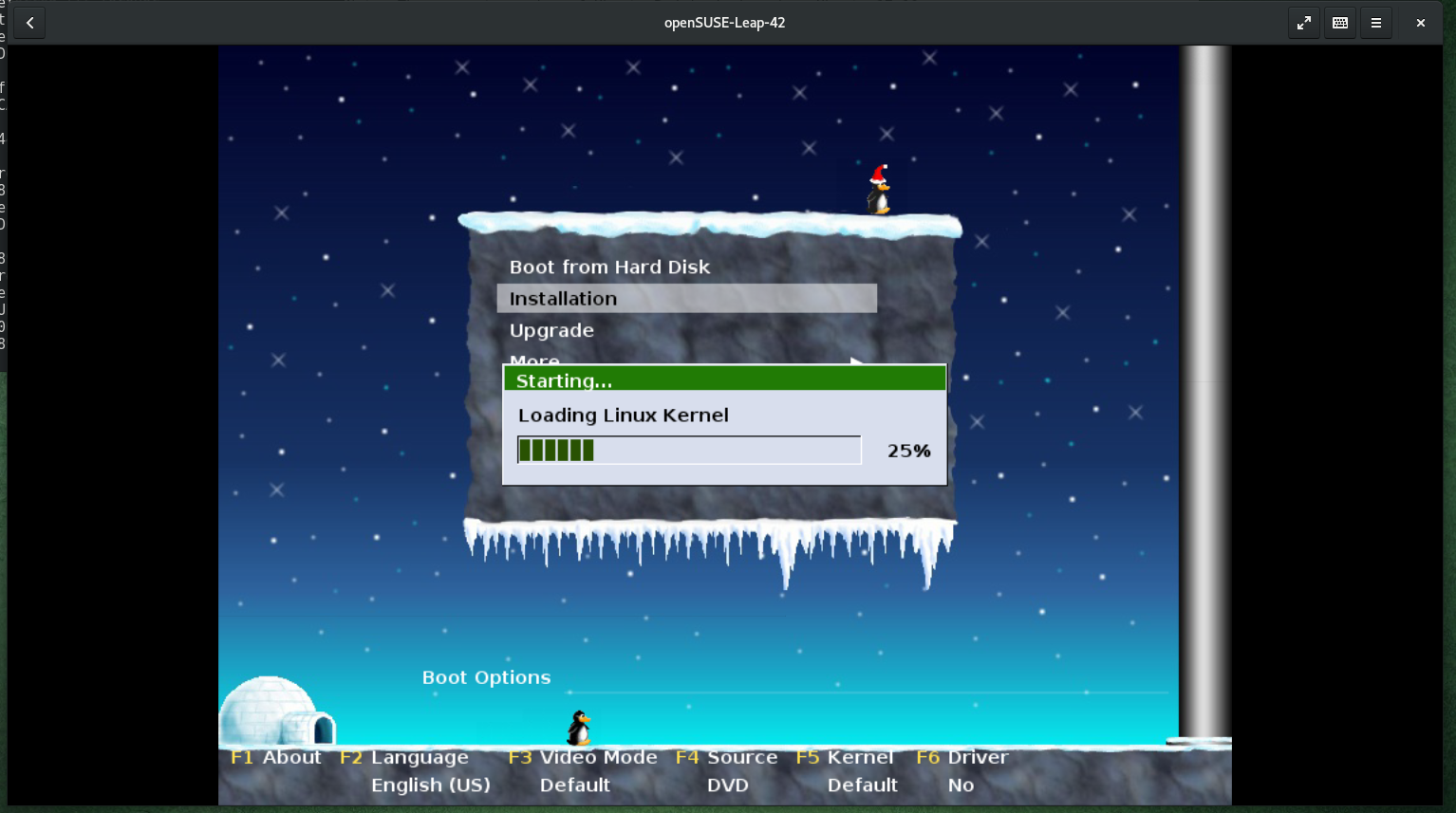 Notes on Gnome Boxes (Fedora 26 Workstation) Part 3
