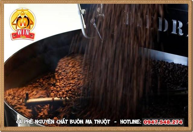 Nhận rang gia công cà phê tại Buôn Ma thuột - Đăk Lăk - Tây Nguyên
