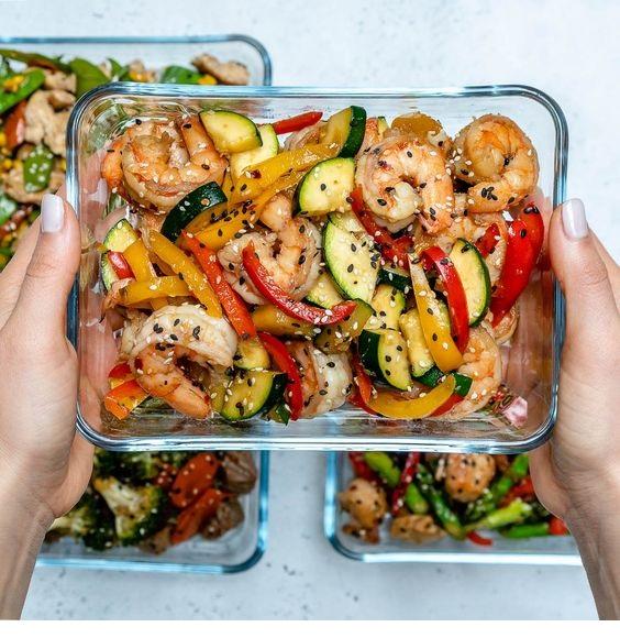 Super-Easy Shrimp Stir-fry
