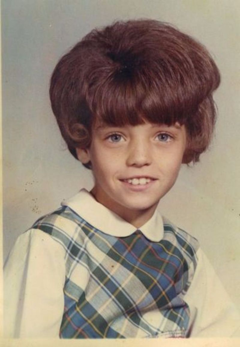30 Horrifyingly Hilarious Childhood Hairstyles From The