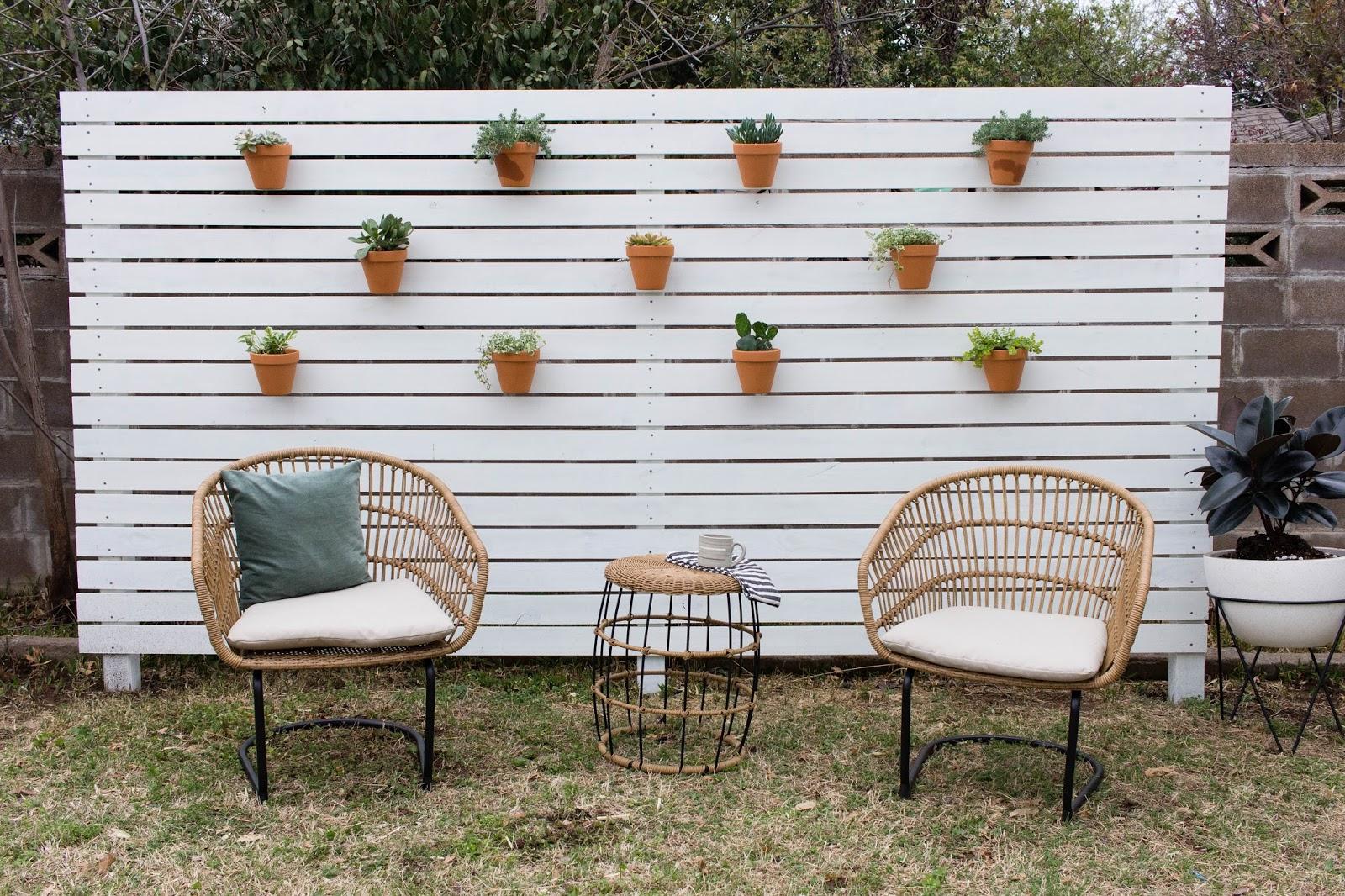 horizontal privacy fence diy always rooney bloglovin. Black Bedroom Furniture Sets. Home Design Ideas