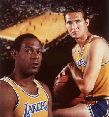 Jerry West y Elgin Baylor