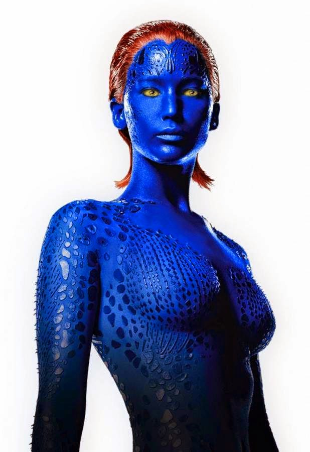 Jennifer Lawrence As Mystique In X-Men Movie  Global -2072