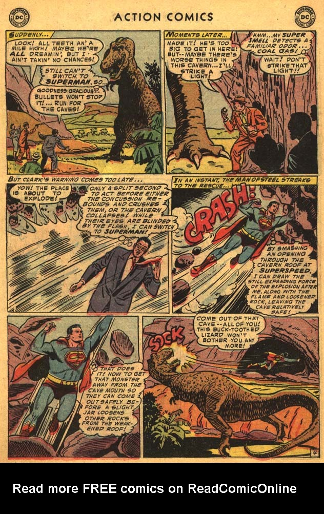 Read online Action Comics (1938) comic -  Issue #201 - 6