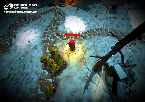 لعبة حرب زومبى الكرسمس Christmas Zombie War