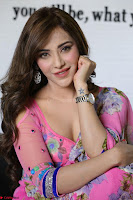 Actress Angela Krislinzki in Pink Saree Blouse Exclusive Pics March 2017 ~  016.JPG