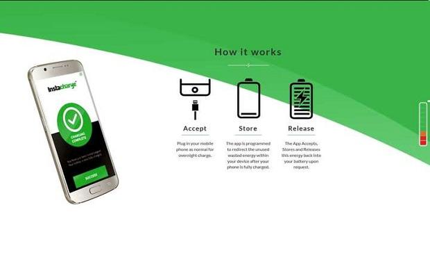 تطبيق جديد يعمل على شحن بطارية الهاتف في ثلاثين ثانية