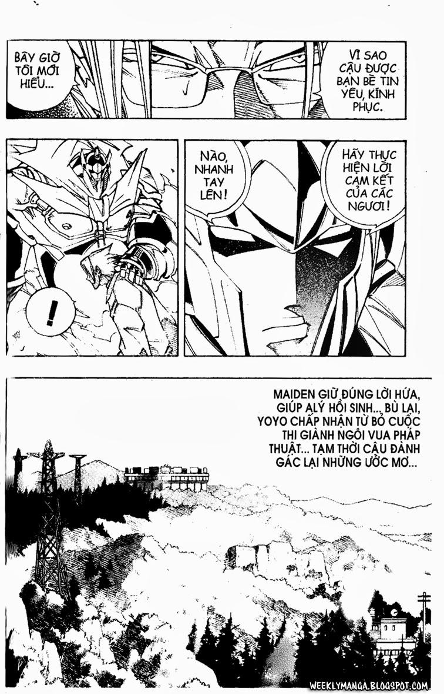 Shaman King [Vua pháp thuật] chap 162 trang 10