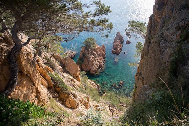 Прогулка вдоль Cami de Ronda de Sant Feliu de Guixols a Platja San Pol