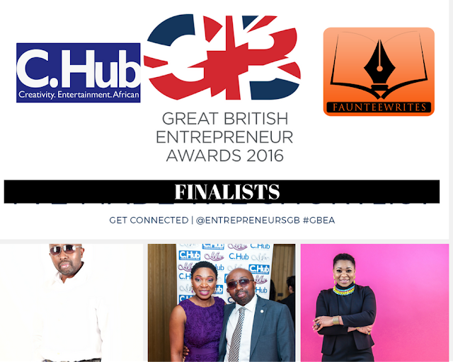 Emeka and Faustina Anyanwu Finalists in the Great British Entrepreneur Awards