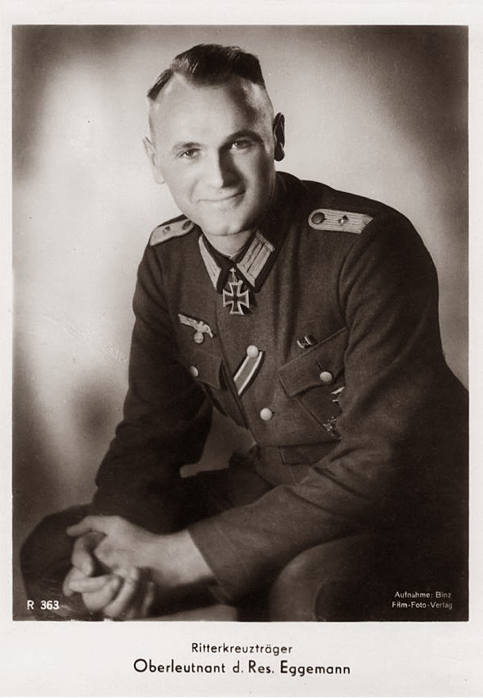 Walter Eggemann Ritterkreuzträger Knight Cross Holder Postcard