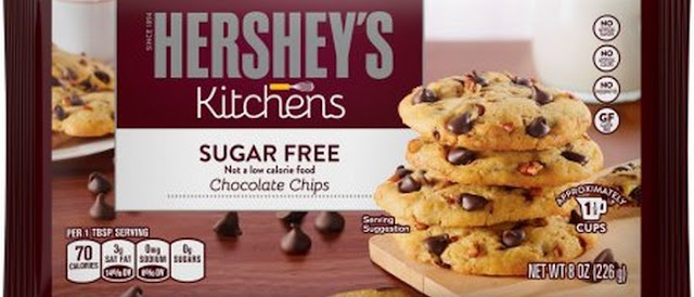 hershey's sugar free chocolate chips nutrition facts