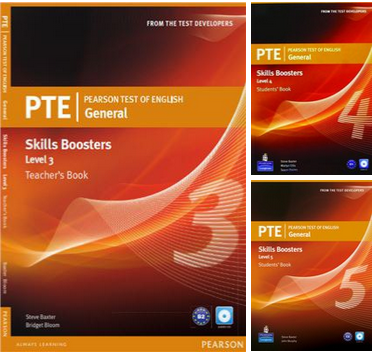 PTE General Skills Boosters (3, 4, 5)
