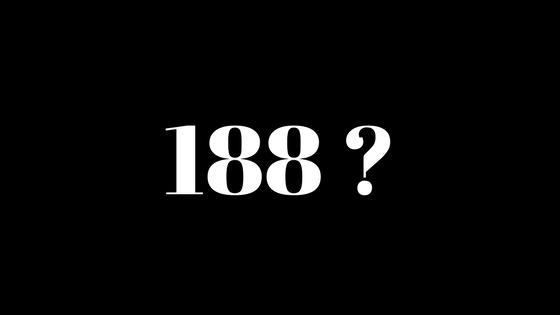 188 nomor apa