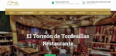 Restaurante el Torreón Tordesillas Valladolid