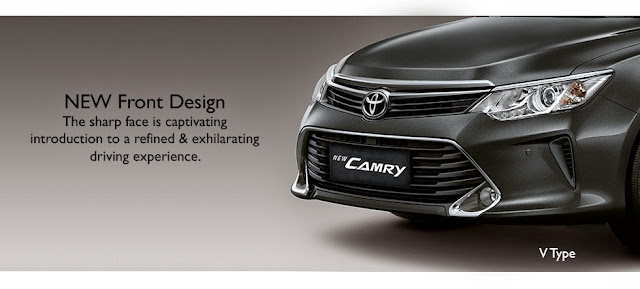 new-camry front design