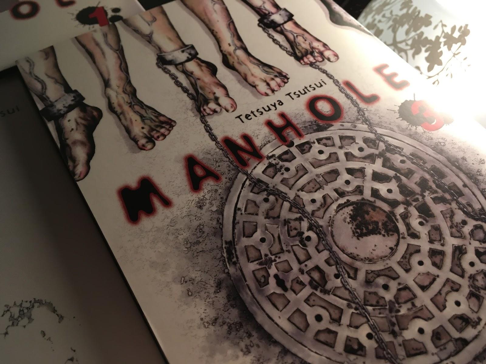 Review/Rezension zum Manga Manhole (carlsen Manga)