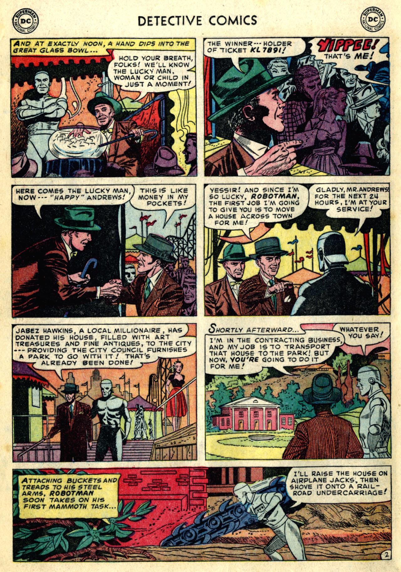 Detective Comics (1937) 192 Page 25
