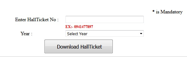 OUCDE MBA l/ll/lll Year Hall Tickets 2017