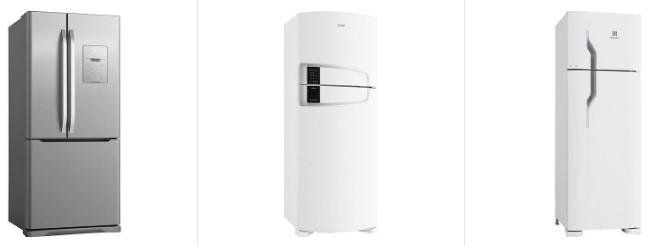 Comprar Geladeira Refrigerador Electrolux Frost Free com 310L