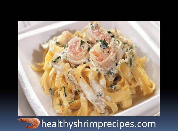 Fettuccine with shrimp recipe