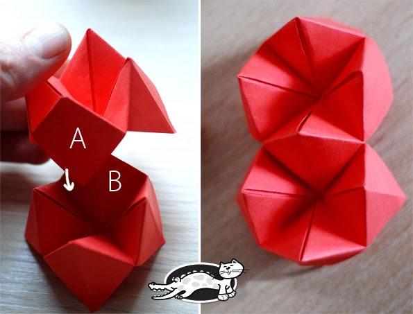 Origami Fortune Teller For Girlfriend