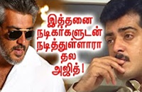 Celebrities With Whom Ajith Has Acted Together!