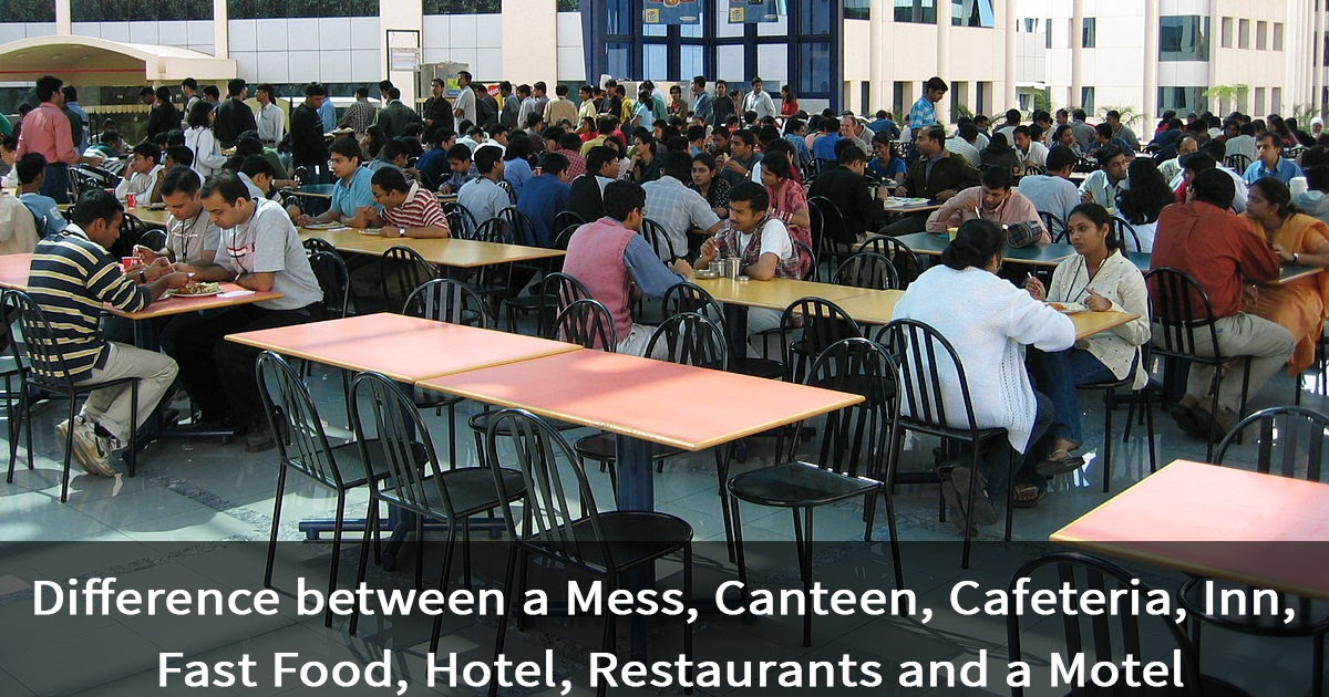 Eating Places and Their Meaning