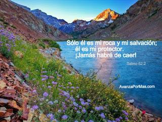 solo el es mi roca y mi salvacion