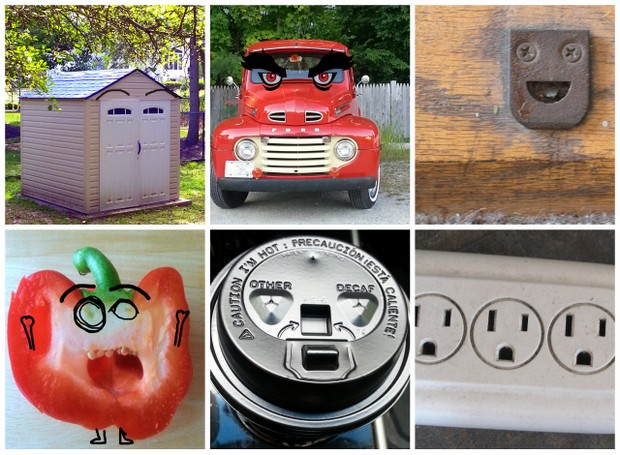Photography Tamdoll sees faces in inanimate objects