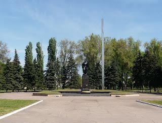 Дружковка. Братская могила советских воинов