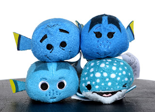 finding dory tsum tsum set four