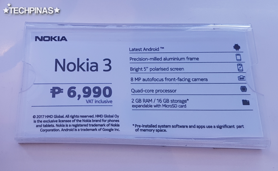 Nokia 3 Philippines
