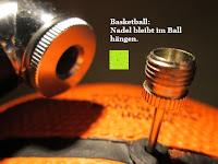 Basketball: Fahrrad Pumpe, URPOWER® Mini Fahrrad & Ball Portable Pumpe - Road, Mountain Or BMX Bike Reifen Pump, Presta & Schrader Kompatibel, Premium CNC Aluminum Legierung, Leichtgewicht & Kompakt
