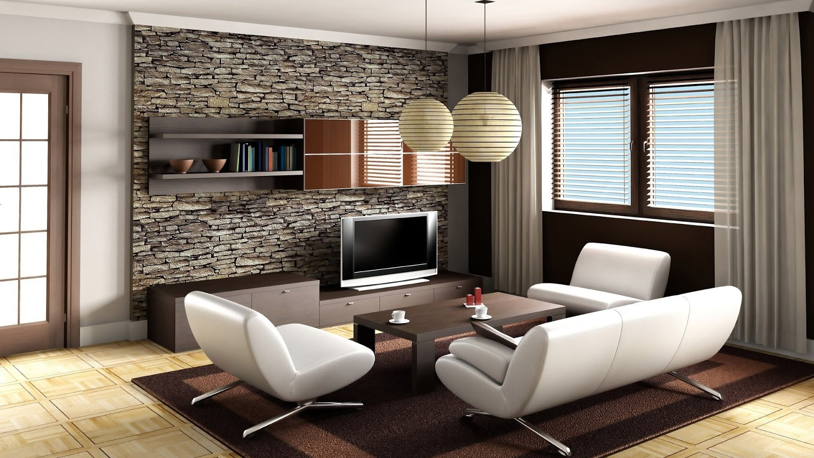 Cool Living Room ~ Mystery Wallpaper