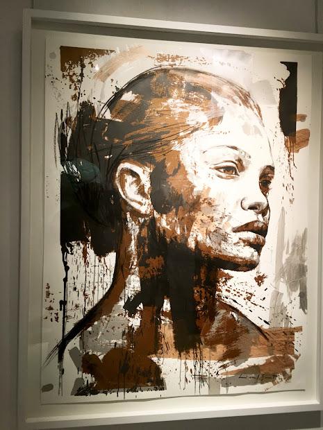 Girl In Africa Art Exhibition Of Lionel Smit Circa