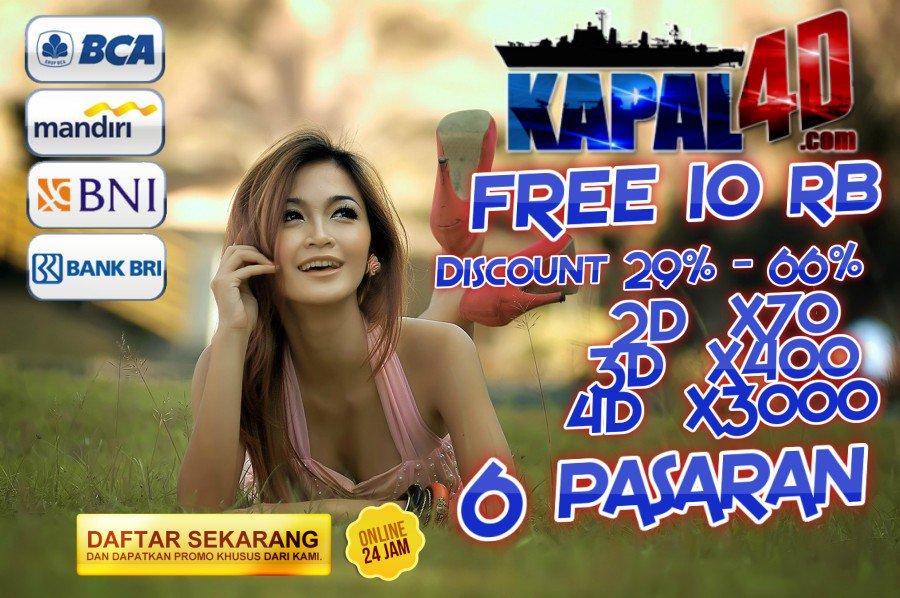 BONUS NEXT DEPOSIT 1% DI KAPAL4D | BANDAR TOGEL ONLINE TERPERCAYA DI INDONESIA DAM-7fKVwAACPXW